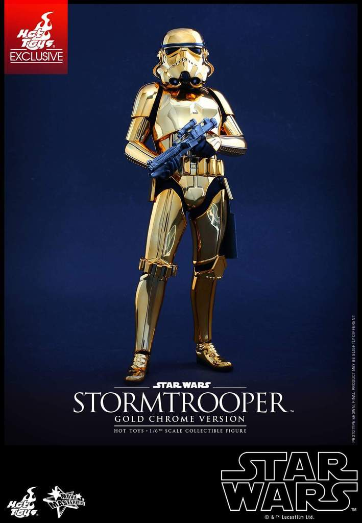 Hot Toys Star Wars 1/6 Scale Gold Stormtrooper Figure Fb_img32
