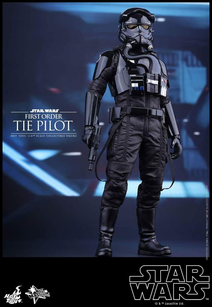Hot Toys Star Wars: TFA 1/6th scale First Order TIE Pilot Fb_img39