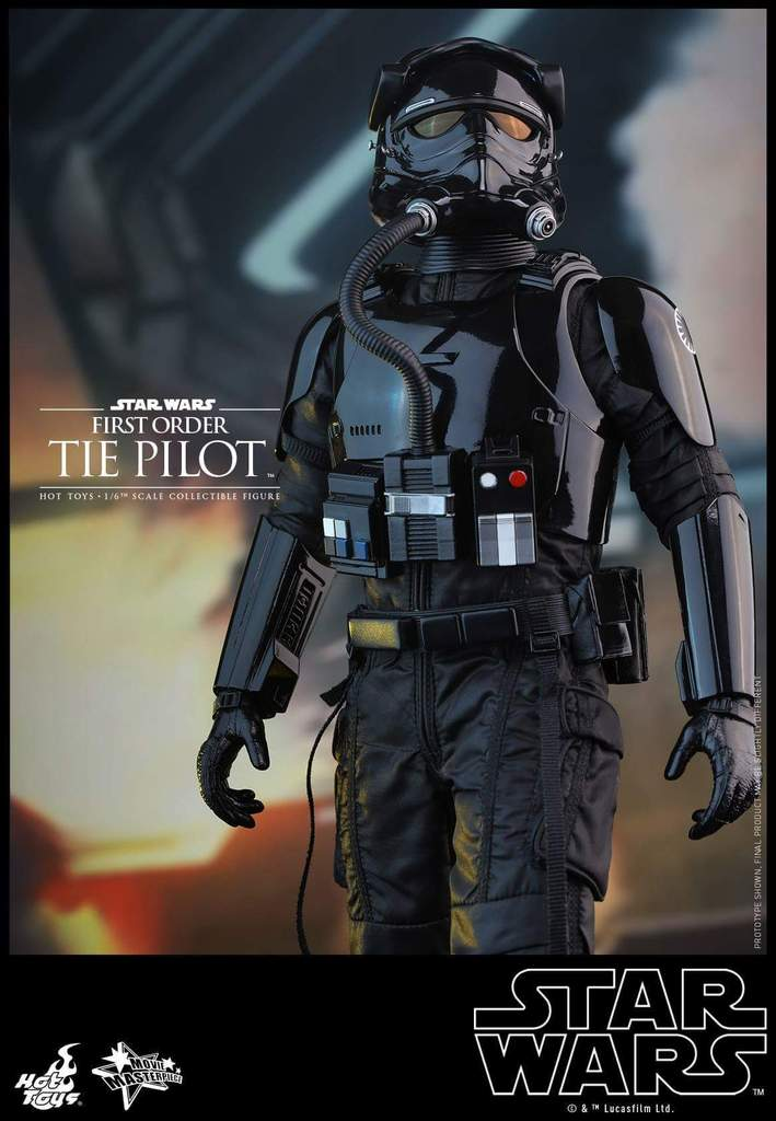 Hot Toys Star Wars: TFA 1/6th scale First Order TIE Pilot Fb_img40