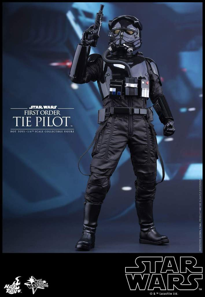 Hot Toys Star Wars: TFA 1/6th scale First Order TIE Pilot Fb_img41