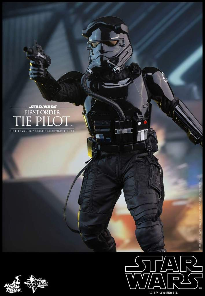 Hot Toys Star Wars: TFA 1/6th scale First Order TIE Pilot Fb_img42