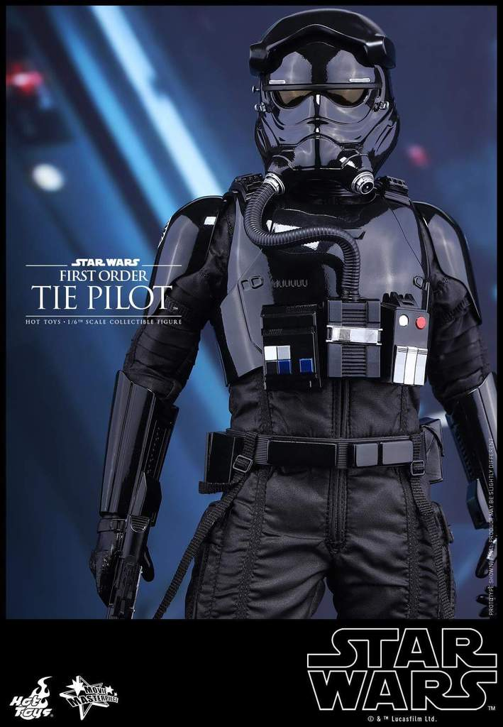 Hot Toys Star Wars: TFA 1/6th scale First Order TIE Pilot Fb_img43