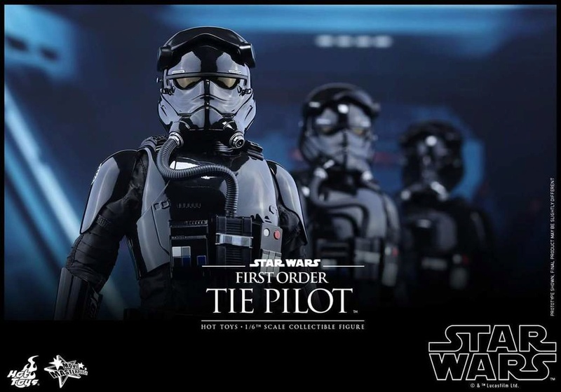 Hot Toys Star Wars: TFA 1/6th scale First Order TIE Pilot Fb_img44