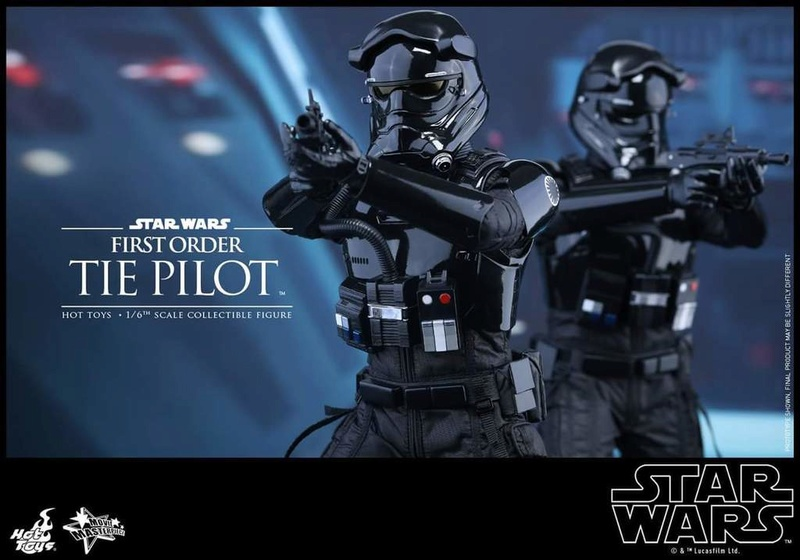 Hot Toys Star Wars: TFA 1/6th scale First Order TIE Pilot Fb_img45