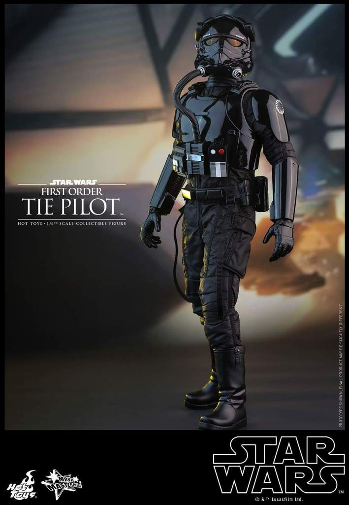 Hot Toys Star Wars: TFA 1/6th scale First Order TIE Pilot Fb_img46