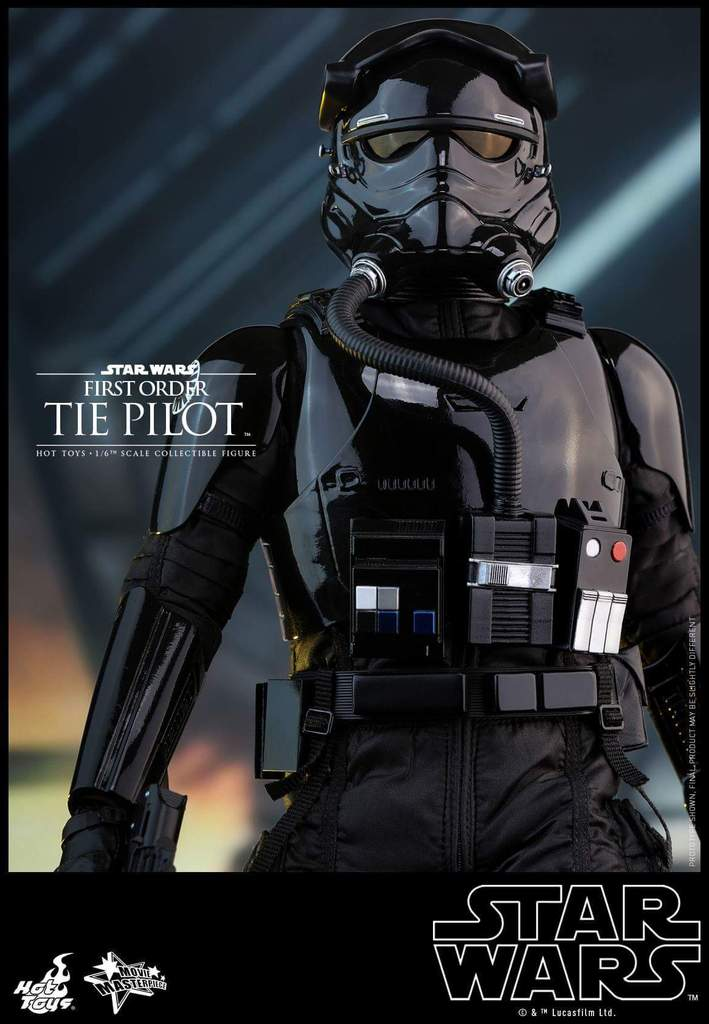 Hot Toys Star Wars: TFA 1/6th scale First Order TIE Pilot Fb_img47