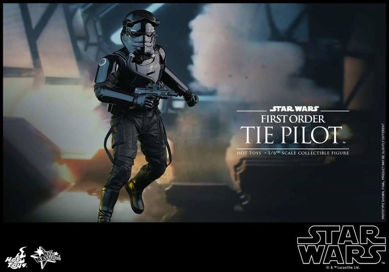 Hot Toys Star Wars: TFA 1/6th scale First Order TIE Pilot Fb_img48