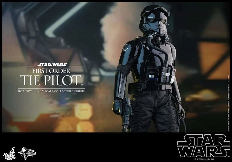 Hot Toys Star Wars: TFA 1/6th scale First Order TIE Pilot Fb_img49