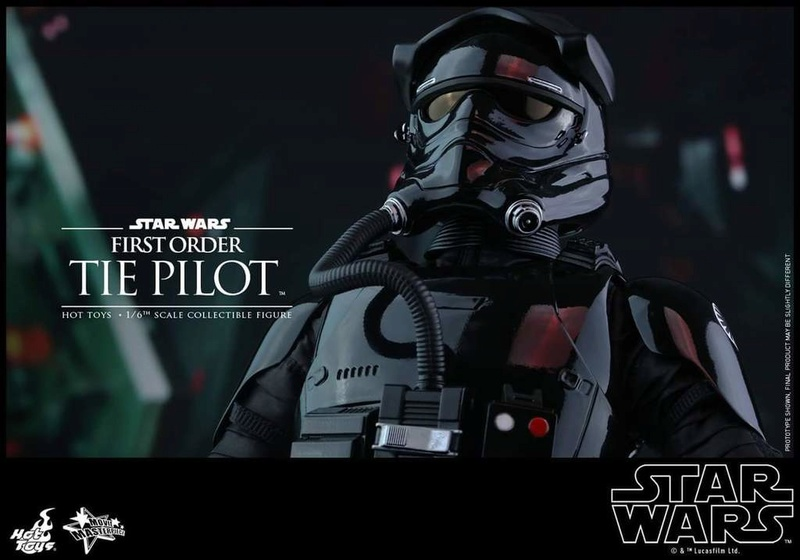 Hot Toys Star Wars: TFA 1/6th scale First Order TIE Pilot Fb_img50