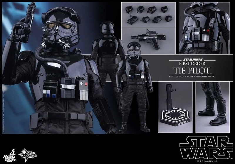 Hot Toys Star Wars: TFA 1/6th scale First Order TIE Pilot Fb_img51