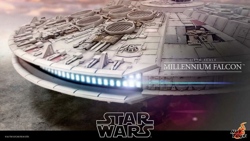 Hot Toys Star Wars 1/6 scale Millenium Falcon Fb_img52