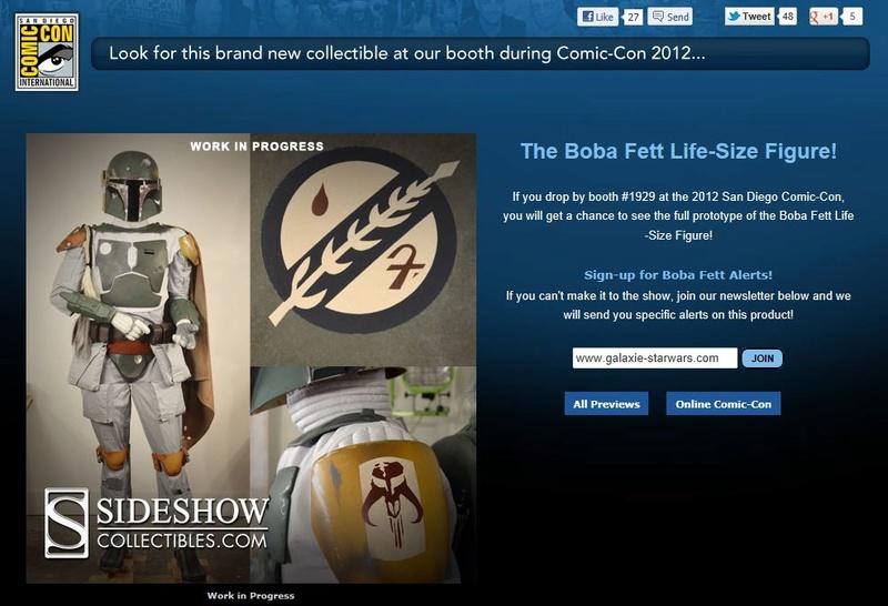 Star Wars - Sideshow - The Boba Fett Life-Size Figure Fettli10