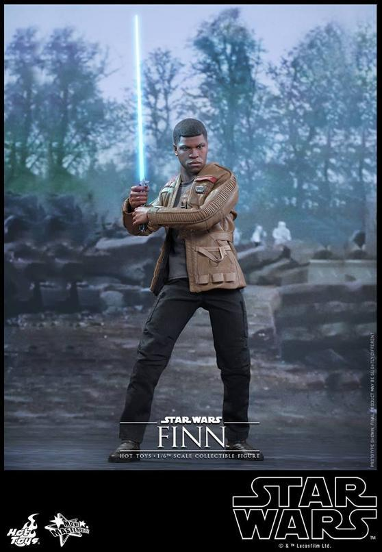 Hot Toys Star Wars: TFA 1/6th scale Finn Collectible Figure Finn0110