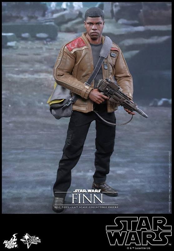 Hot Toys Star Wars: TFA 1/6th scale Finn Collectible Figure Finn0210