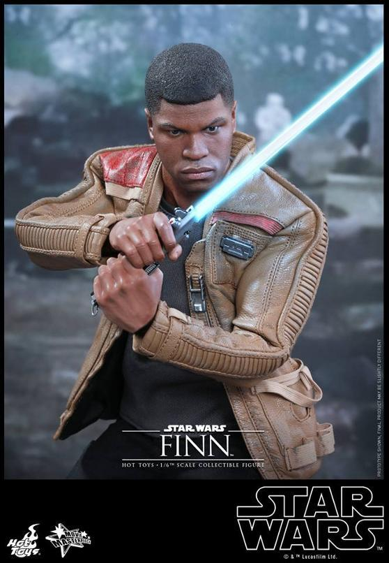 Hot Toys Star Wars: TFA 1/6th scale Finn Collectible Figure Finn0410