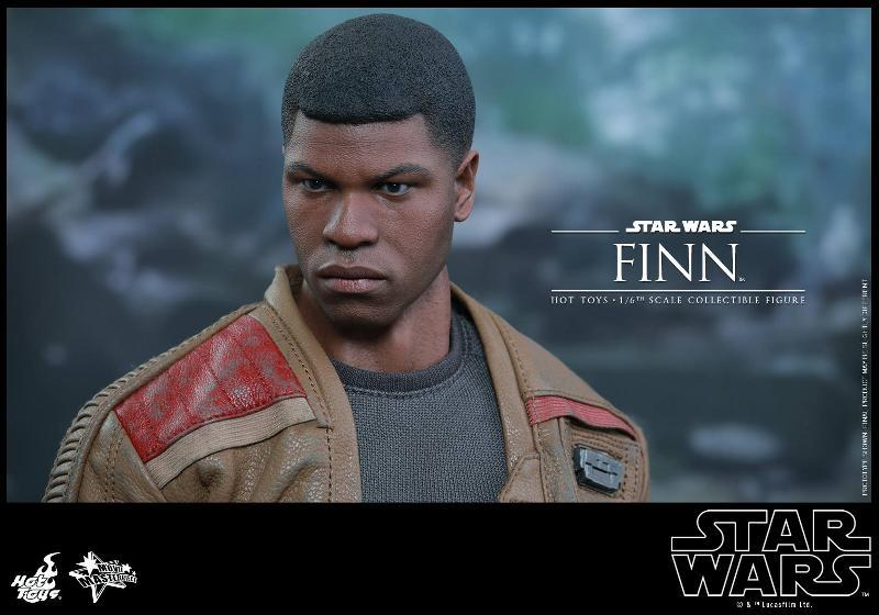 Hot Toys Star Wars: TFA 1/6th scale Finn Collectible Figure Finn1010