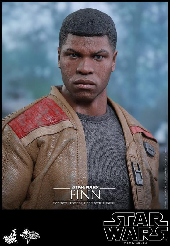 Hot Toys Star Wars: TFA 1/6th scale Finn Collectible Figure Finn1110
