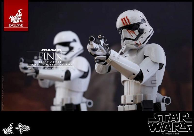 Hot Toys Star Wars: The Force Awakens - Finn Stormtrooper Finnst10