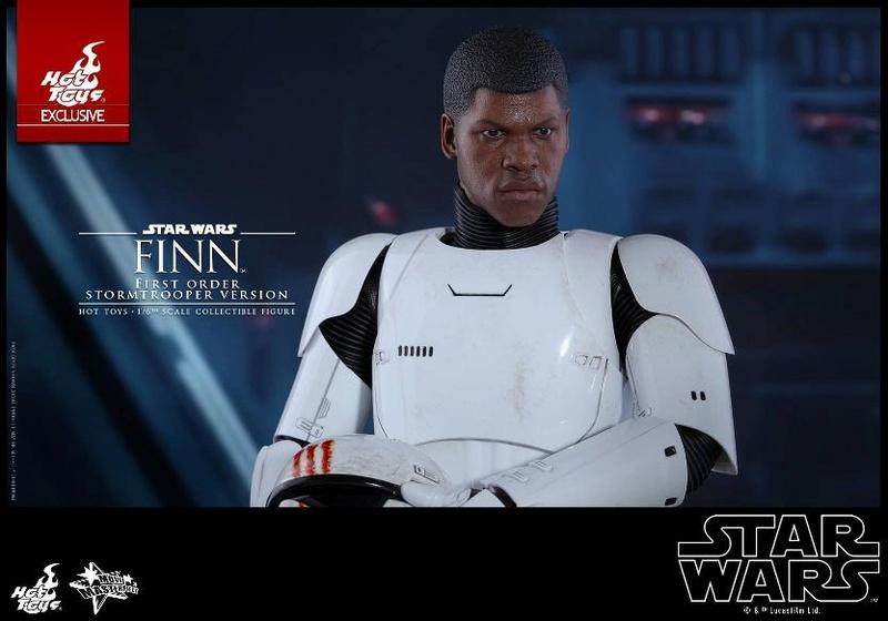 Hot Toys Star Wars: The Force Awakens - Finn Stormtrooper Finnst13