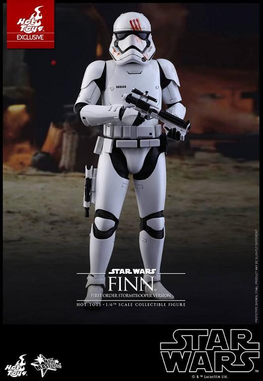 Hot Toys Star Wars: The Force Awakens - Finn Stormtrooper Finnst14