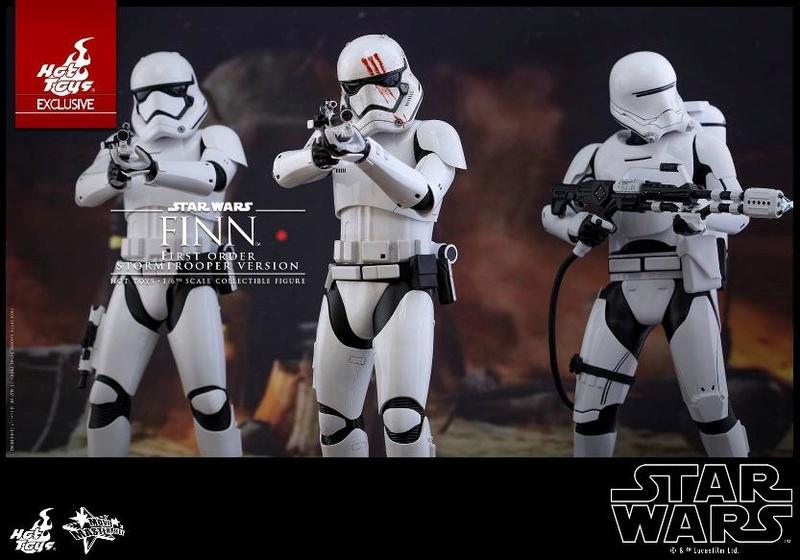 Hot Toys Star Wars: The Force Awakens - Finn Stormtrooper Finnst15