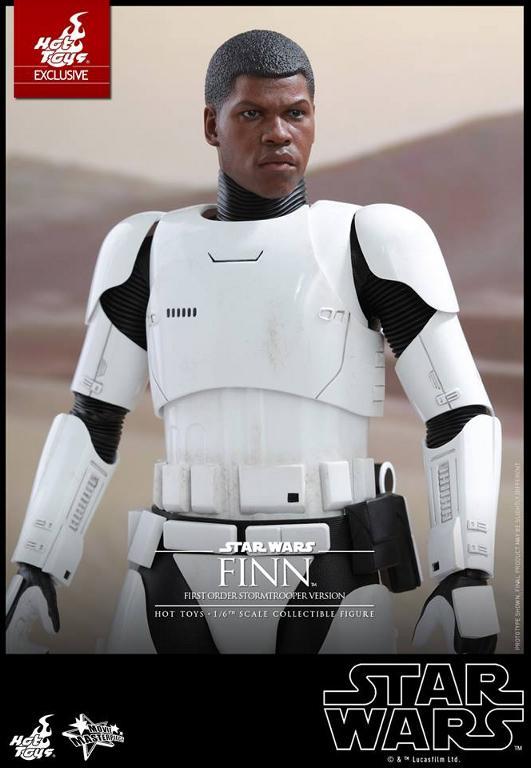 Hot Toys Star Wars: The Force Awakens - Finn Stormtrooper Finnst16