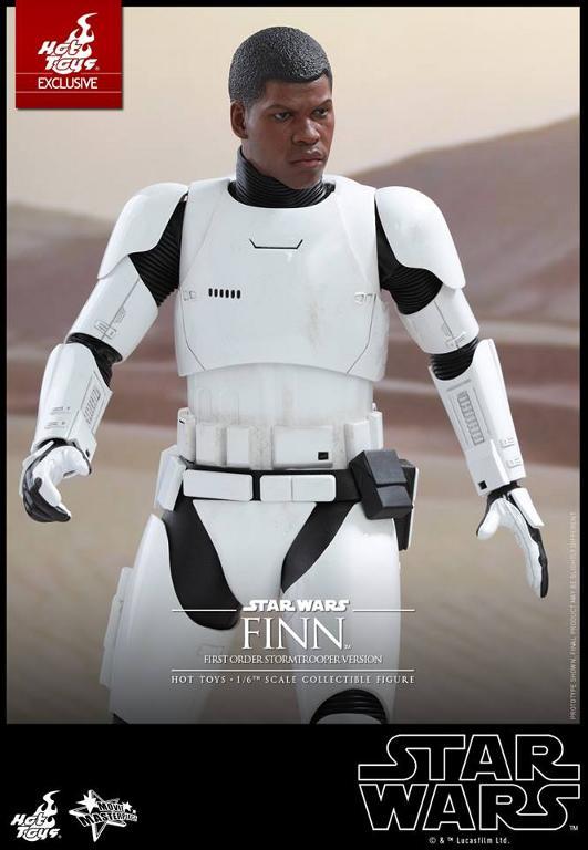 Hot Toys Star Wars: The Force Awakens - Finn Stormtrooper Finnst17