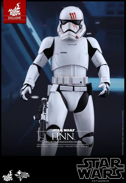 Hot Toys Star Wars: The Force Awakens - Finn Stormtrooper Finnst19