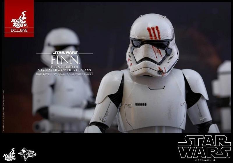 Hot Toys Star Wars: The Force Awakens - Finn Stormtrooper Finnst20