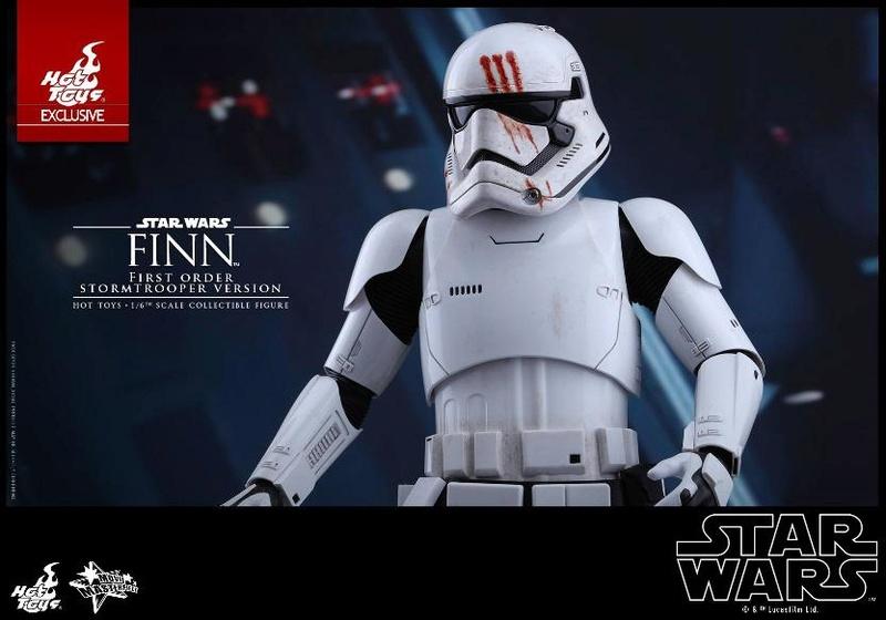 Hot Toys Star Wars: The Force Awakens - Finn Stormtrooper Finnst21
