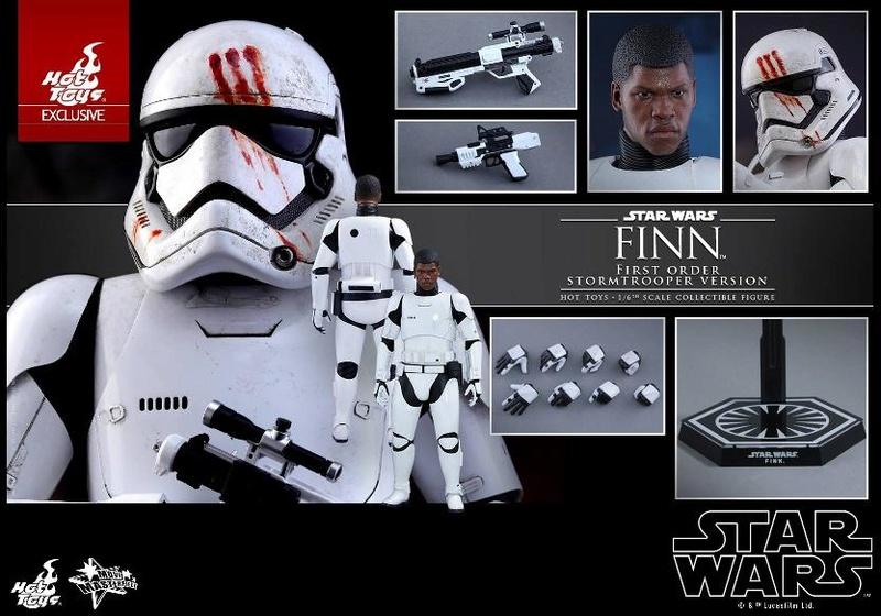 Hot Toys Star Wars: The Force Awakens - Finn Stormtrooper Finnst22