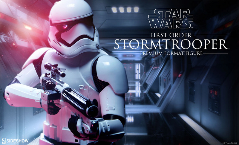 Sideshow - First Order Stormtrooper Premium Format Figure Firsto10