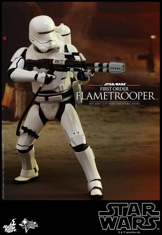 Hot Toys Star Wars TFA 1/6th scale First Order Flametrooper Flame_11