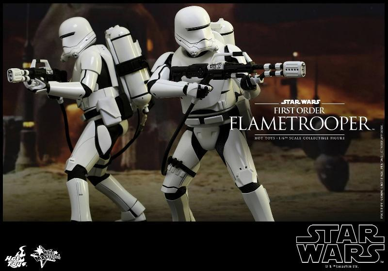 Hot Toys Star Wars TFA 1/6th scale First Order Flametrooper Flame_12