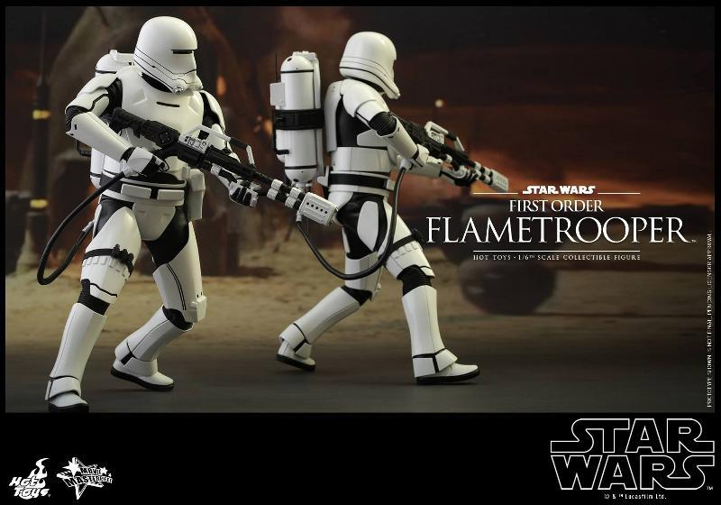 Hot Toys Star Wars TFA 1/6th scale First Order Flametrooper Flame_13