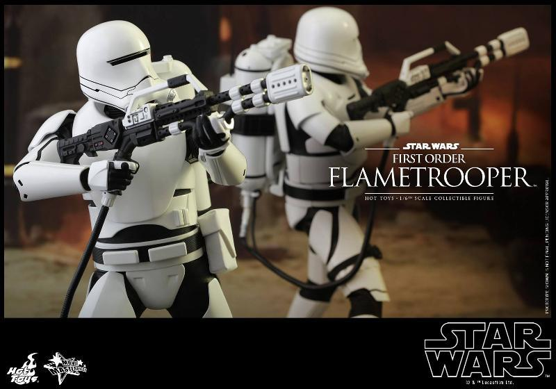 Hot Toys Star Wars TFA 1/6th scale First Order Flametrooper Flame_16