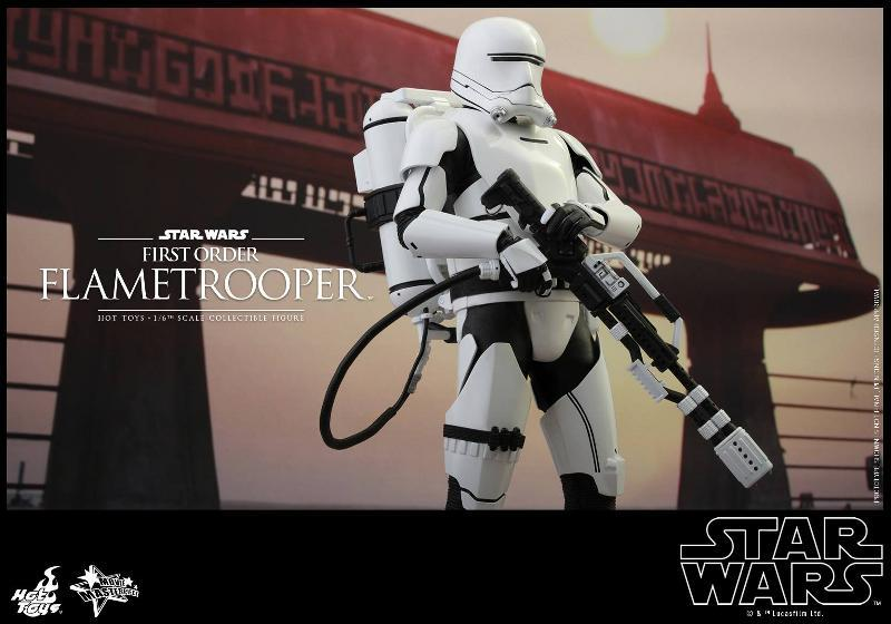 Hot Toys Star Wars TFA 1/6th scale First Order Flametrooper Flame_17