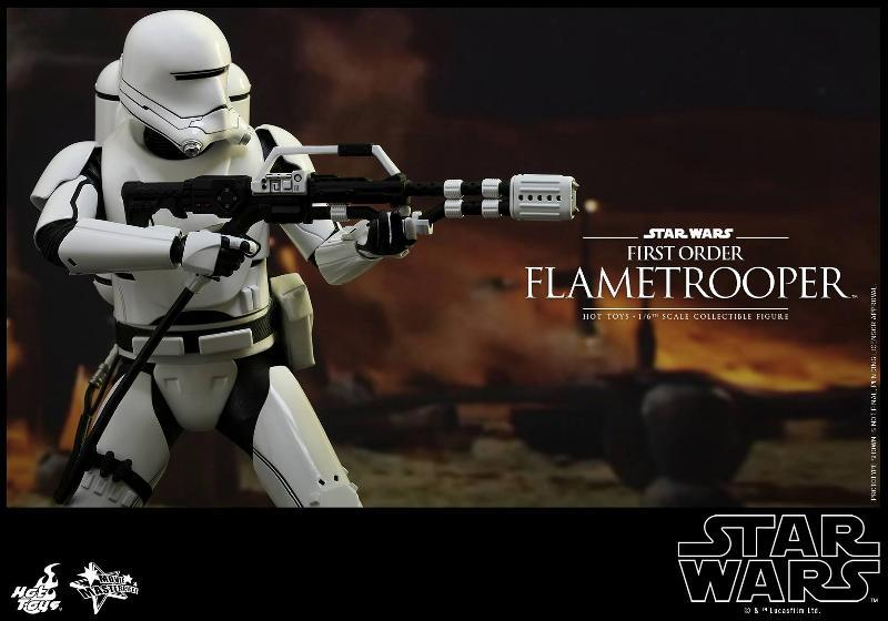 Hot Toys Star Wars TFA 1/6th scale First Order Flametrooper Flame_19