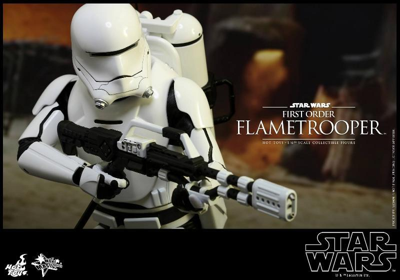 Hot Toys Star Wars TFA 1/6th scale First Order Flametrooper Flame_21