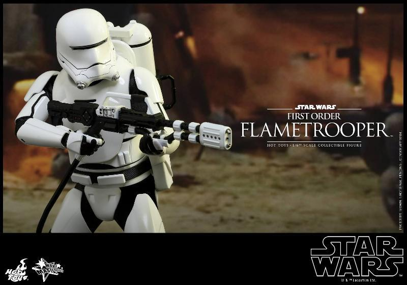 Hot Toys Star Wars TFA 1/6th scale First Order Flametrooper Flame_22