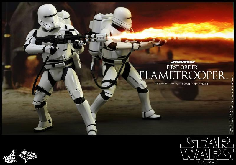 Hot Toys Star Wars TFA 1/6th scale First Order Flametrooper Flame_24