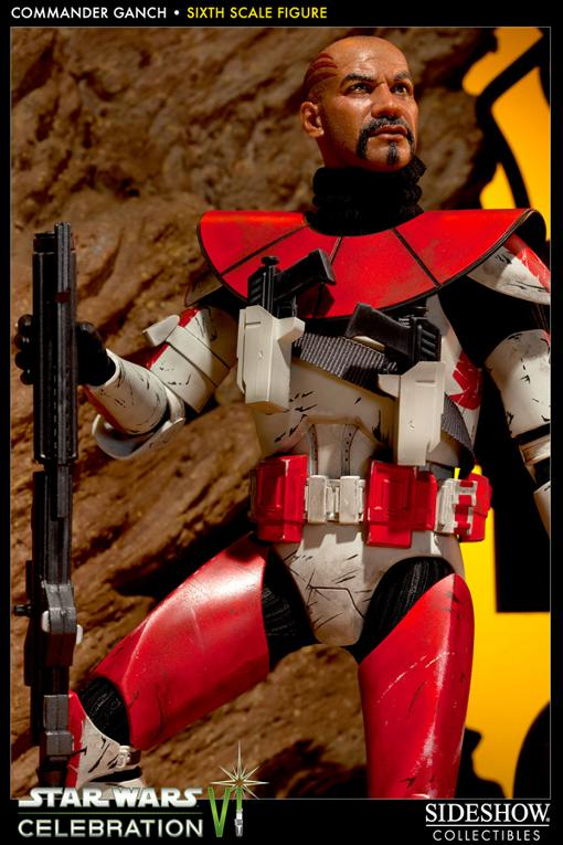 Sideshow - Commander Ganch - 12 inch figure - CVI Exclusive  Ganch010