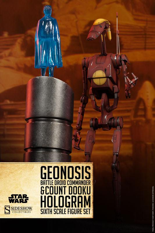 Sideshow - Geonosis Battle Droids Sixth Scale Figure Sets Geonos11