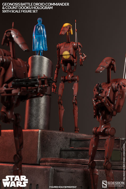 Sideshow - Geonosis Battle Droids Sixth Scale Figure Sets Geonos12
