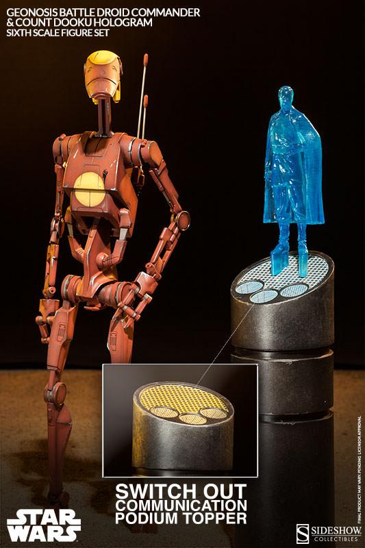 Sideshow - Geonosis Battle Droids Sixth Scale Figure Sets Geonos13