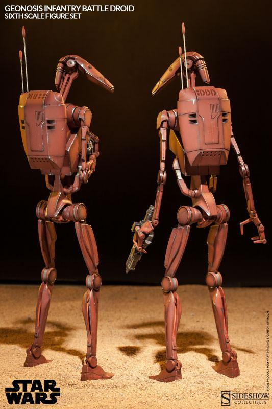 Sideshow - Geonosis Battle Droids Sixth Scale Figure Sets Geonos14