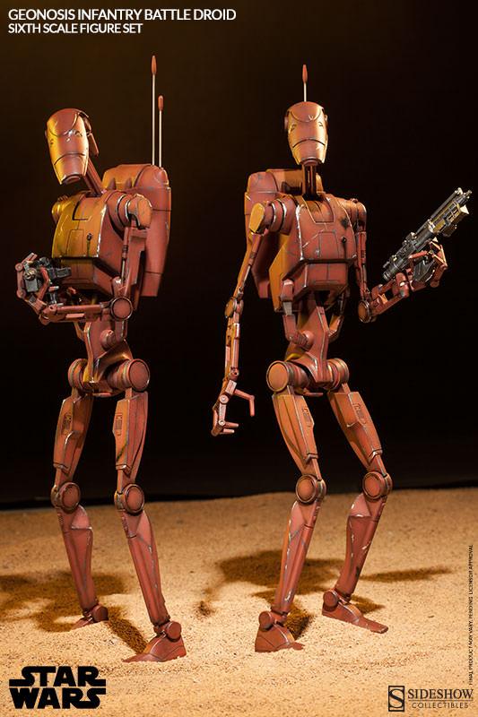Sideshow - Geonosis Battle Droids Sixth Scale Figure Sets Geonos15