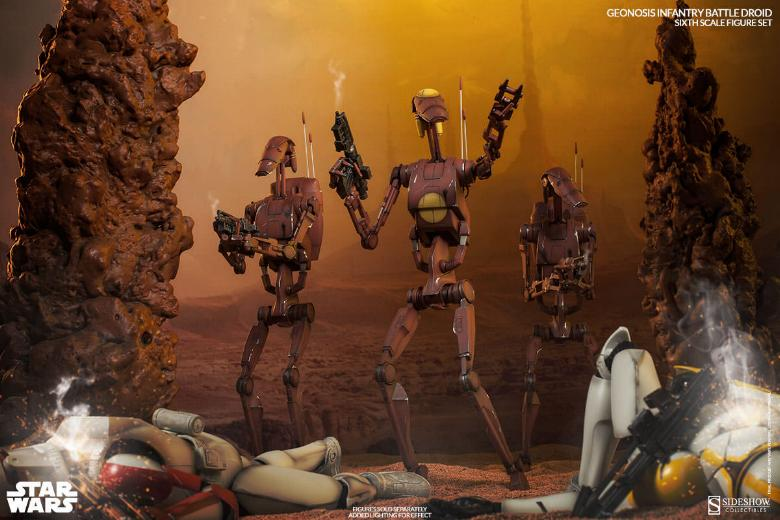 Sideshow - Geonosis Battle Droids Sixth Scale Figure Sets Geonos19