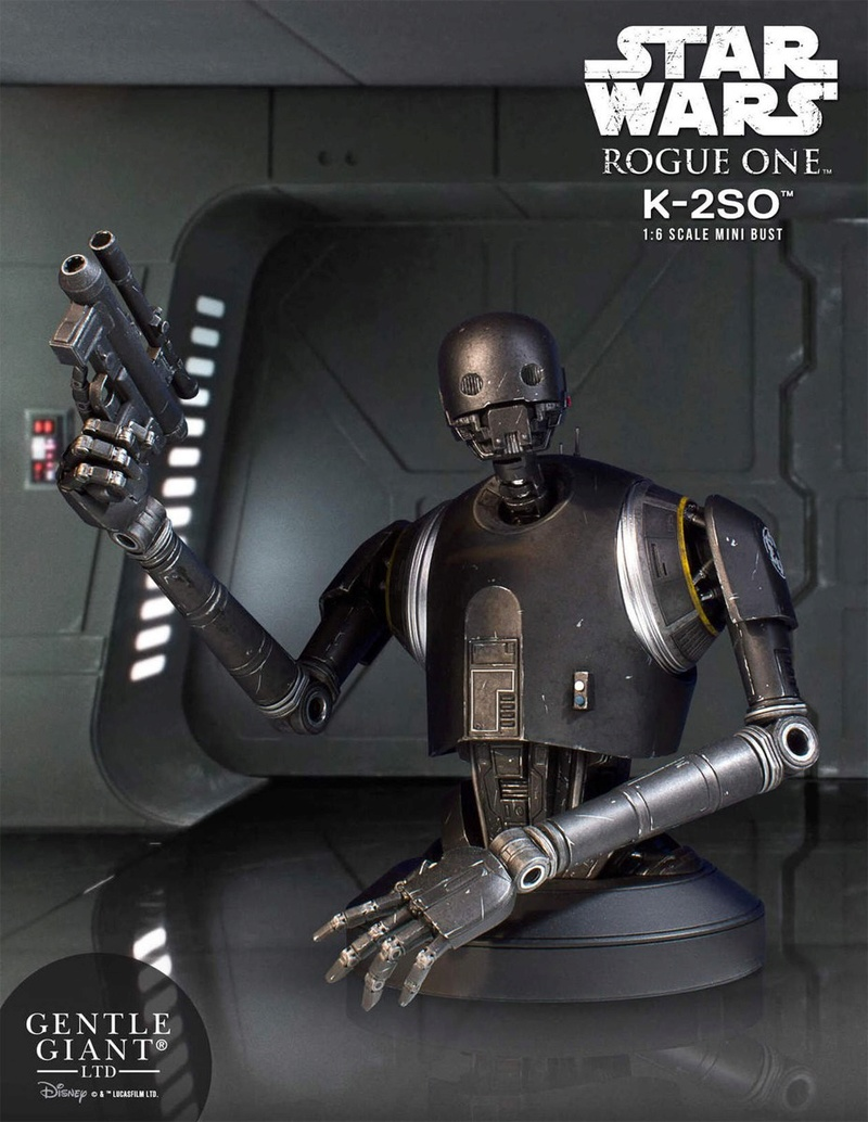 Gentle Giant - K-2SO Holiday Deluxe Mini Bust Gg-k2s10