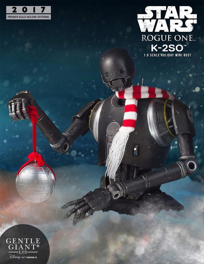 Gentle Giant - K-2SO Holiday Deluxe Mini Bust Gg-k2s11
